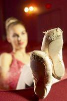Idealiska foten egenskaper för Pointe arbete