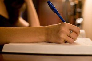Hur man analyserar strukturen Novell skriftligen