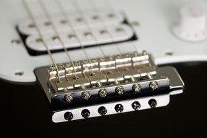 Hur sträng en Fender Squire gitarr