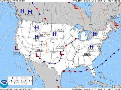Hur används en Väderkarta?