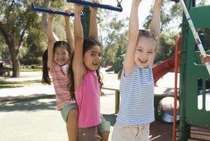 Atletiska övningar för barn
