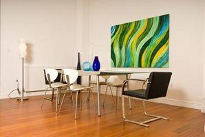 Hur man målar en abstrakt målning med akryl