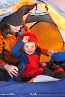 Hur man styr 3-åringar i ett läger