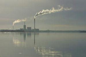 Effekterna av förorening på jorden & ökat globala uppvärmningen