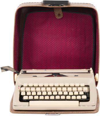 Hur man skriver med en manuell skrivmaskin