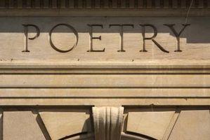 Litterära verktyg för en dikt
