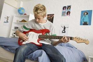 Hur man gör en egen elgitarr låt på nätet