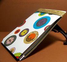 Hur man binda ett papper anteckningsblock