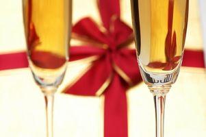 DIY vin gåvor för bruden