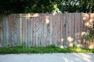 Hur man skissa på ett staket