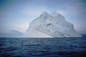 Beskrivning av de tre möjliga effekterna av den globala uppvärmningen
