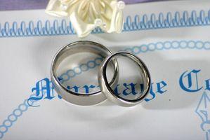 Hur du skaffar en kopia av ett äktenskapslicens i Marietta, Georgia