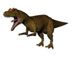 Hur man drar en dinosaurie en Etch en skiss