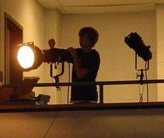 Typer av teater belysning