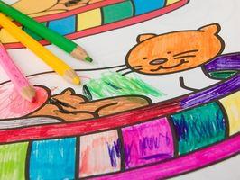 Hur gör jag skapa Coloring Book sidor med Inkscape?