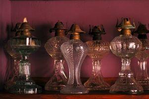 Historien av antika gnistor lampor