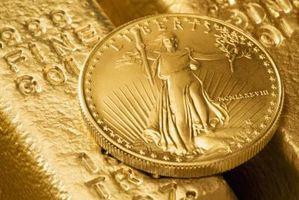 Hur att smälta guldmynt