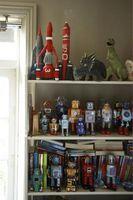 Hur man organiserar en leksak hylla