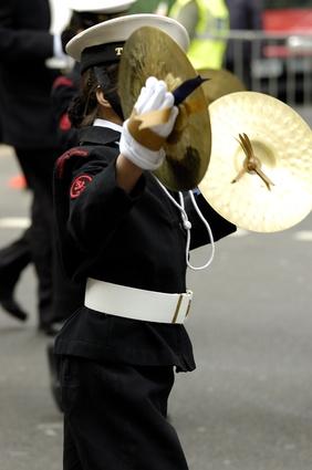 Olika typer av trummor och andra slaginstrument