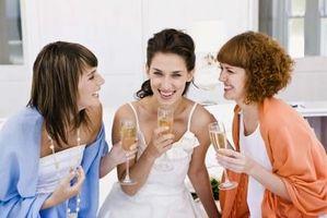 Tips etikett för duschar bröllop