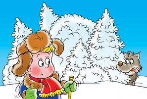 ClipArt för vinteraktiviteter