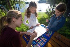 Picknick bord planer för barn