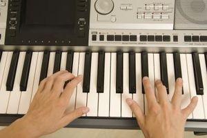 Spela in en Synth Piano
