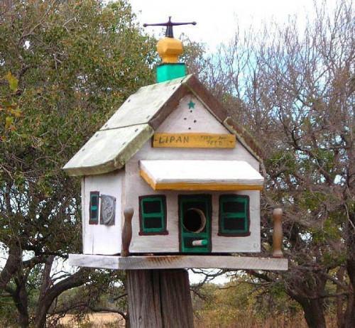 Hur man bygger olika typer av fågelhus