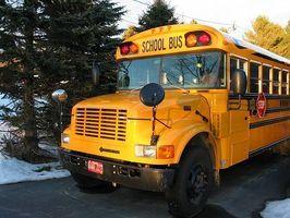 Skolbuss verksamhet
