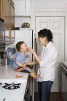 Bra läggdags Snacks för småbarn