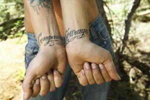 Armband tatuering idéer