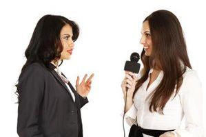 Hur man ställa frågor på en talkshow
