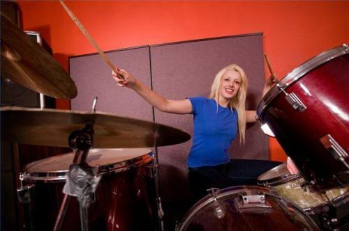Hur man spelar Jazz slår på trummor
