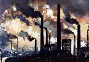 Den negativa effekten av industri på den globala uppvärmningen