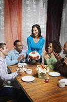 Bröllop Repetition middag tårta traditioner