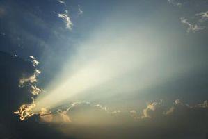 Hur man gör en fotoeffekt solljus