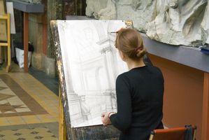 Skolor med gamla mästare Art tekniker i New York City