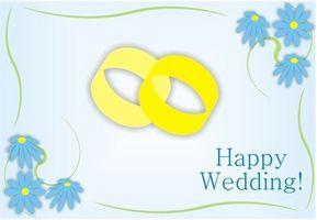 Noter till pålagt bröllop kort när du registrerar