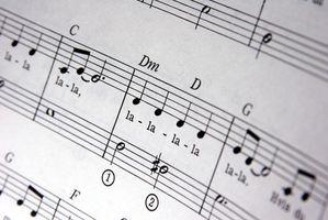 Musikaliska spel för barn 0-8 år med noter