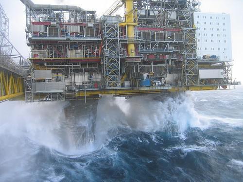 Typer av Offshore Drilling