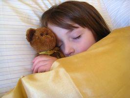 Att få småbarn till sängs på kvällen