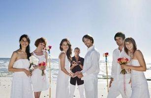 Förteckning över föreslagna bröllop innebär