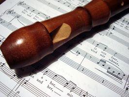 Hur man läser musik skriven i B-dur skala