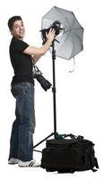 Hur man gör en ljuslåda för att fotografera skyltdockor