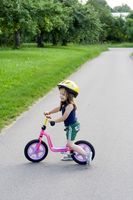 DIY balans cykel
