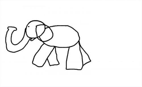 Hur man drar tecknad elefanter