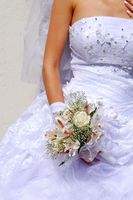 Bröllop bukett spänne hantverk
