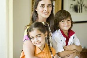 Hur att förälder en fem-årig liten flicka