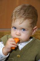 Livsmedel för avvänjning en Baby