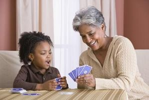 Bra spel för 3-åriga barnbarn